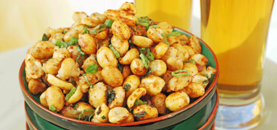 Spicy-Peanuts-with-Green-Onions