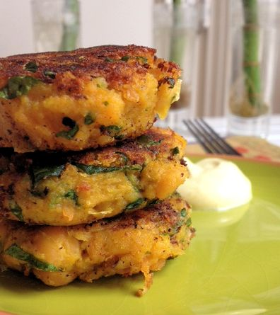 Curry Squash-Pea Patties4