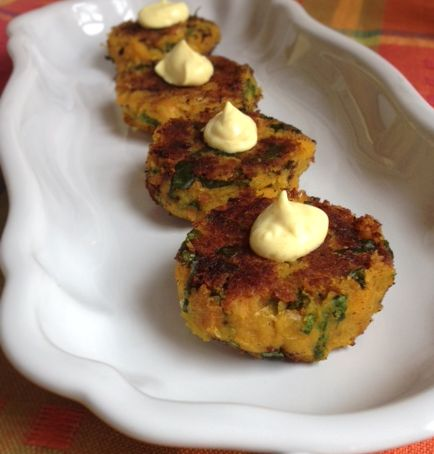 Curry Squash-Pea Patties6