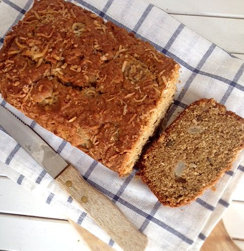 pear coconut bread