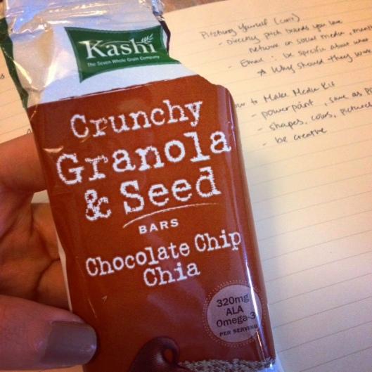 Crunchy Granola & Seed Bar