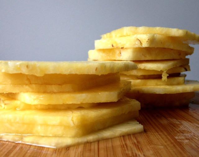 Pineapple slices