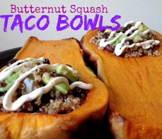 Butternut Squash Taco Bowls