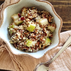 Winter Breakfast Quinoa Salad