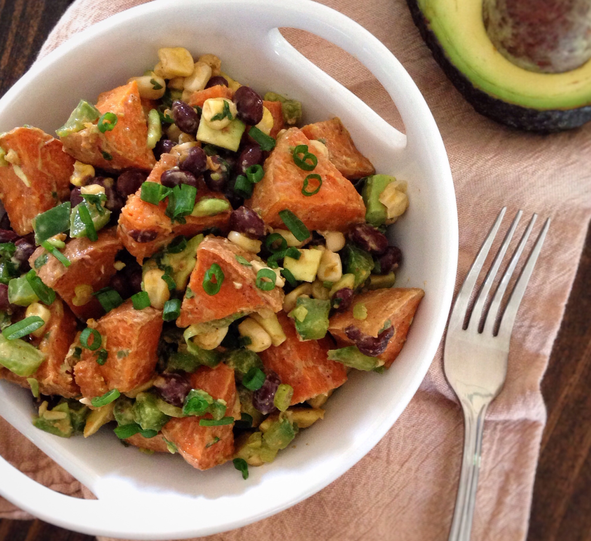 Sweet Potato Fiesta Salad