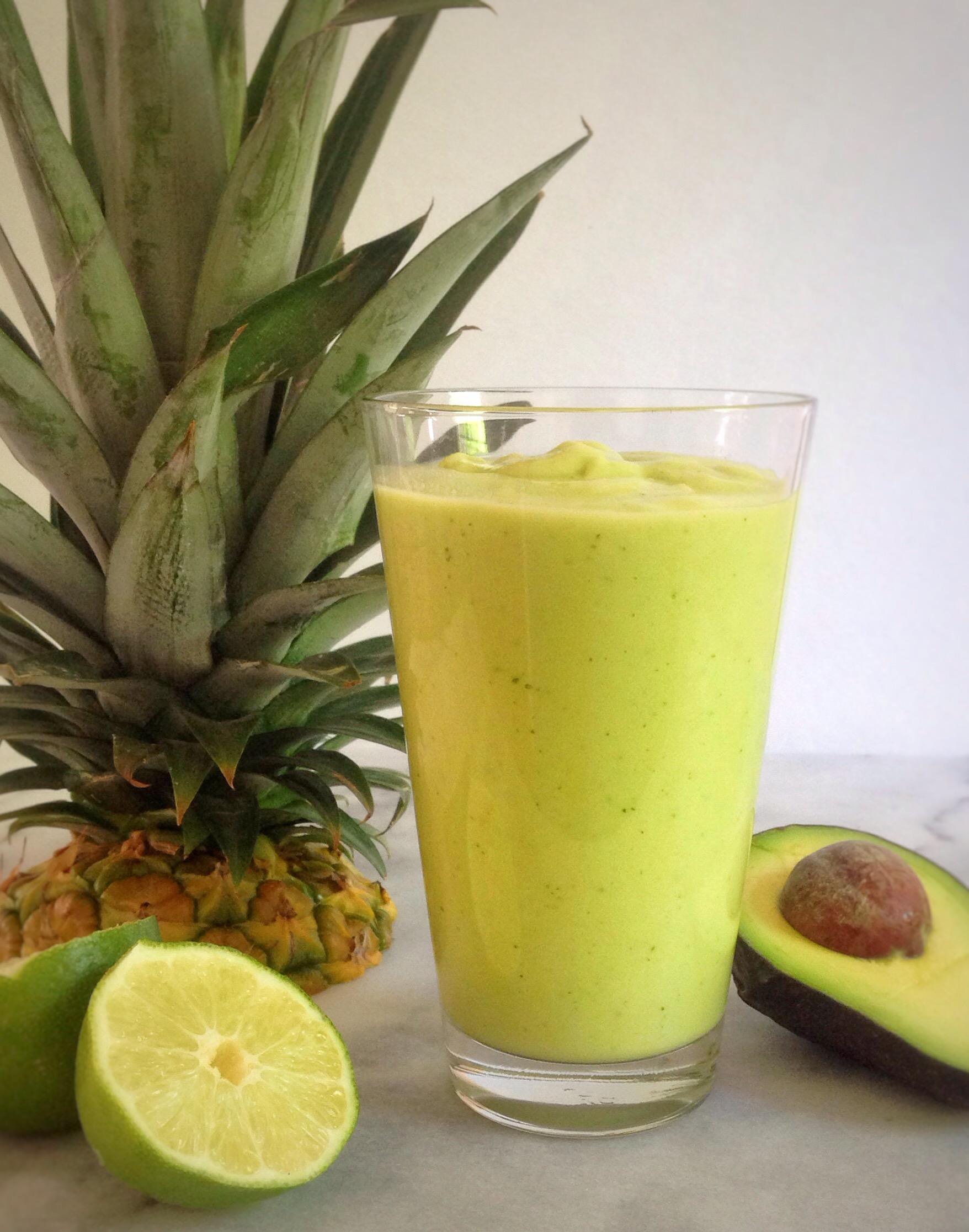 Avocado Pineapple Refresher