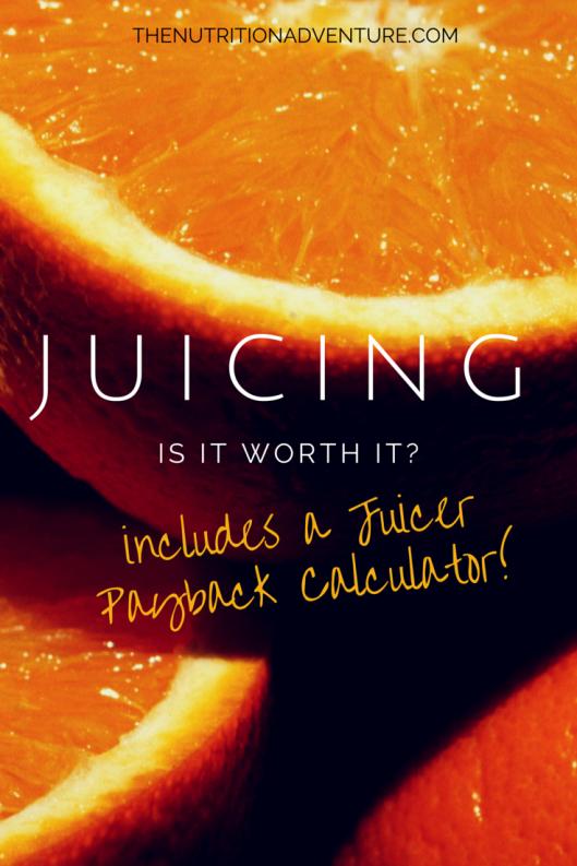 Juicing: Is It Worth It?