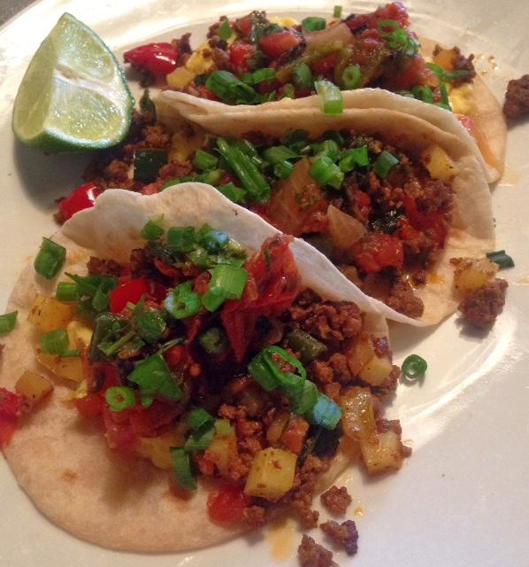 Tacos at El Barrio