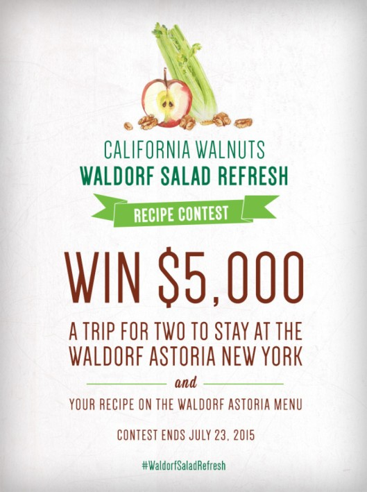 waldorf salad contest