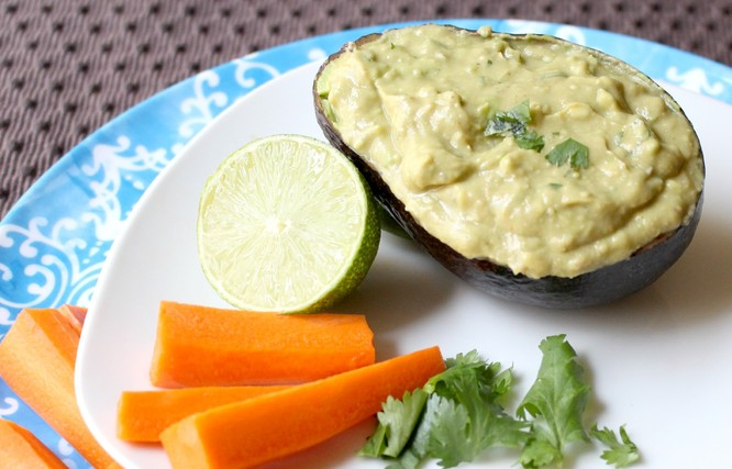 Easy Guacamole from Amber at Homemade Nutrition