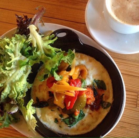 Pinewood Social breakfast vegetarian option