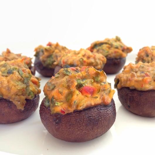 Spicy Hummus Mushroom Poppers3
